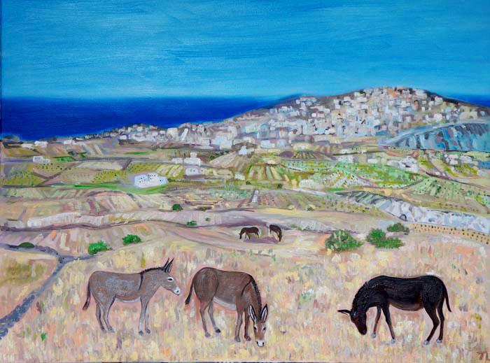 The Three Donkeys