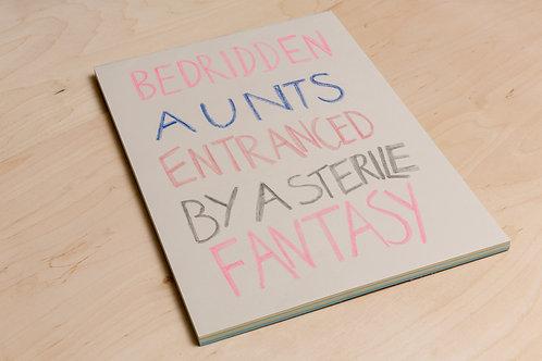 Bedridden Aunts A3 Photo Poster Book