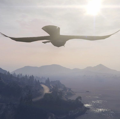 Watch David Blandy's new film How to Fly - screening online via John Hansard Gallery throughout