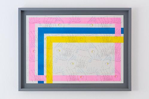 Lauren Godfrey, risograph print
