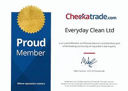 CHECKATRADE MEMBER - EVERYDAYCLEAN.CO.UK