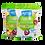 Thumbnail: Fruitusie 50g - chrupki kukurydziane o smakach owocowych
