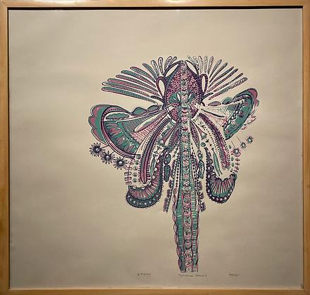 "Avni Bansal, ""Asymmetrical Botanical III"", 2021"