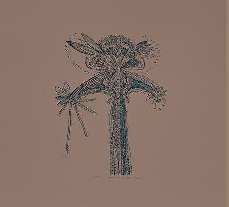 "Avni Bansal, ""Asymmetrical Botanical II"" 2021"