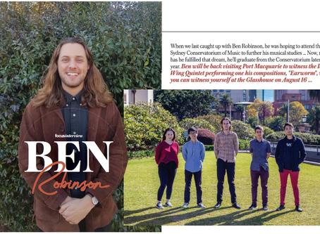 Featured Interview in Focus Magazine