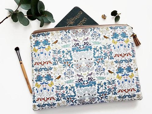 Garden life wash bag iPad sleeve 9.7, iPad air 2, toiletry bag, make-up pouch, e