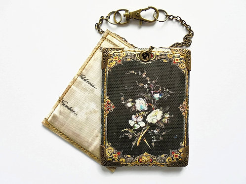 Quaint luggage tags, travel tags, suitcase tags,  antiquated.