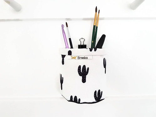 Mini Storage Bins,wall grid storage,Cacti,Cactus,Monochrome,organiser bin,small