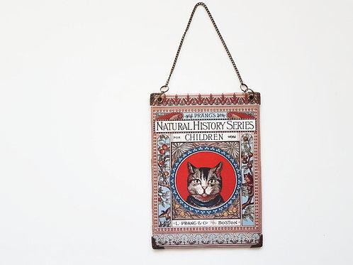 Cat Reversible Hanging Vinyl Wall Art