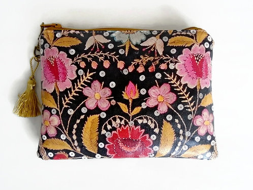 Embroidery Print Coin purse