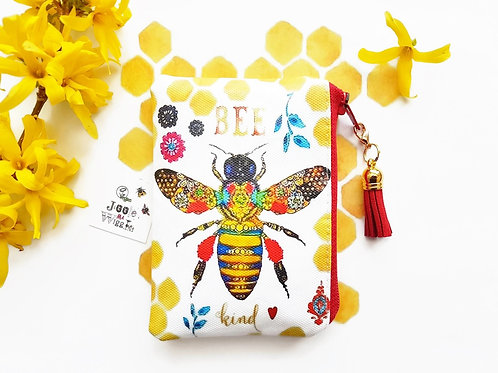 Honey bee Waterproof card holder, business card holder,credit card,business card