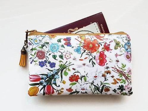 Travel Gifts, Wallet,Floral,passport gift set,eco gift