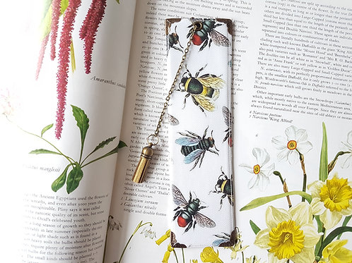 Gifts for book lovers, Bumble Bee, Luxury waterproof page marker,