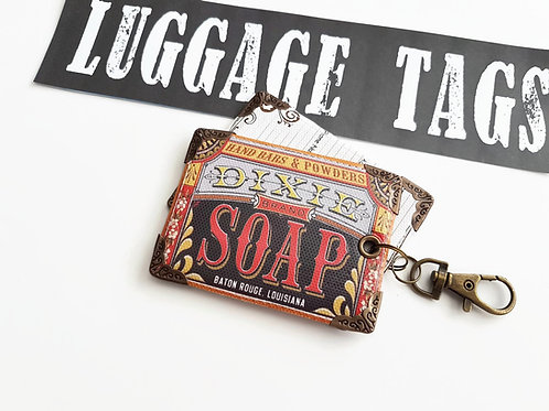 Luggage tags,retro tags,bag tags,travel tags,luggage labels