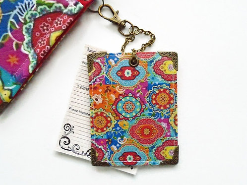 Indian inspired,novelty tags,bag tags,travel tags,luggage labels,bee