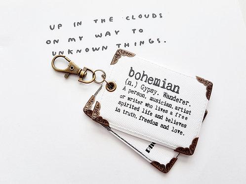 Bag tags,travel tags,luggage labels,bohemian,boho,