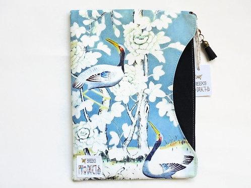 Chinoiserie iPad 9.7 sleeve, custom tablet cover,