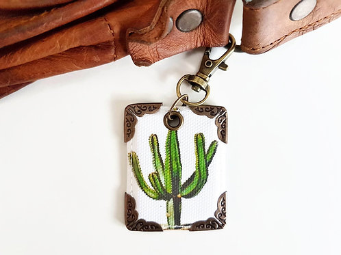 bag charm, purse charm,cactus,cacti,bag tag,bag accessory,
