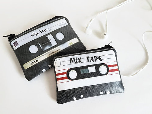 Cassette tape wallet,credit card size,card wallet.