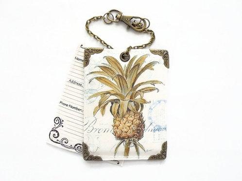 Pineapple Luggage Tags,travel tags,bag tags.