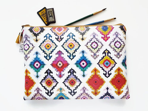 ikat PVC-free iPad sleeve 9.7, iPad air 2, toiletry bag, make-up pouch, eco frie