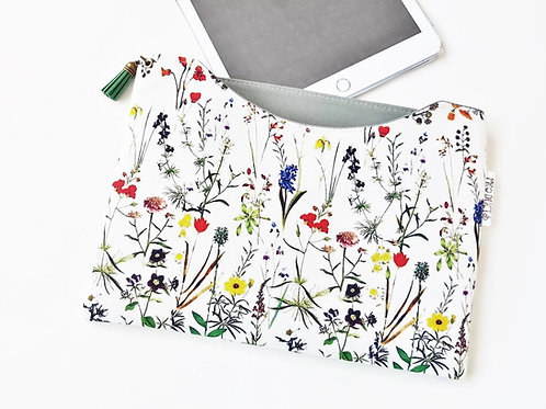 Custom iPad 9.7 inch sleeve,Botanical dust sleeve,phone and tablet covers