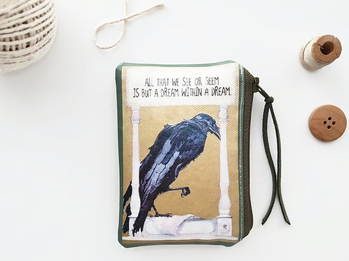 The poets coin purse, A little Poe mashup.