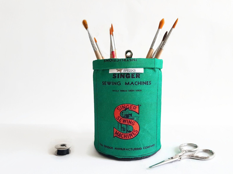 Singer sewing Pen caddy,brush caddy,stor