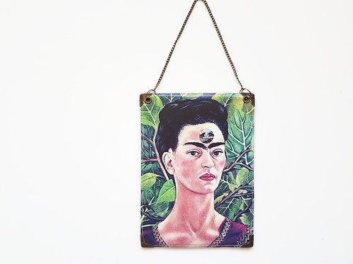 Frida Khalo Reversible Hanging Vinyl Wall Art