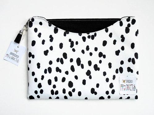 Made to measure iPad 9.7 sleeve, Dalmatian print