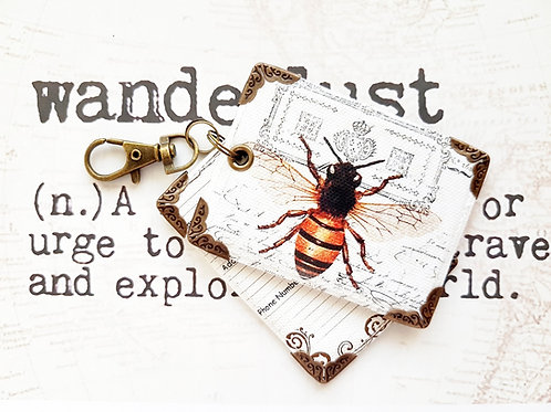 Luggage tags,novelty tags,bag tags,travel tags,luggage labels,bees,bumble bees