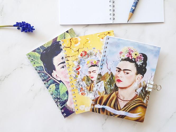 Frida Khalo notepads
