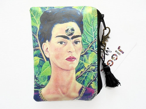 Frida Khalo credit card wallet.