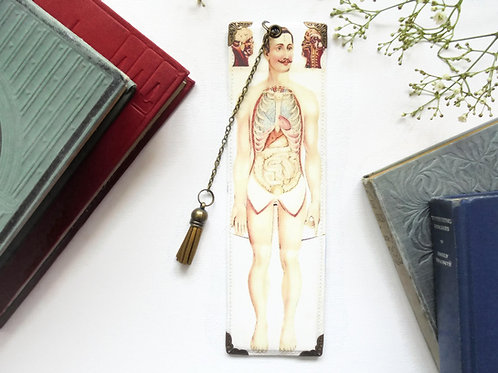 Gifts for book lovers, Luxury waterproof Bookmark, page marker, medical gift, li
