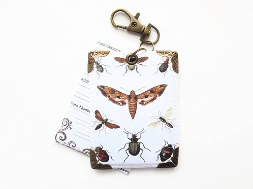 moths,insects,bugs,zoology, Luggage Tags,bag tags,suitcase tags,personalised lug