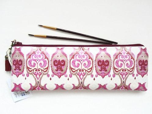 Raspberry iKat, Pencil case,Art gifts,vegan vinyl pencil
