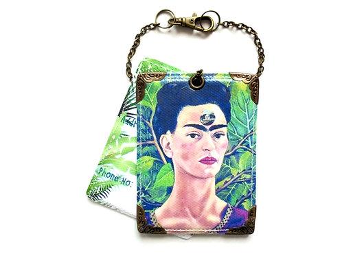 Frida Khalo, luggage tags, baggage tags, travel tags, bag tags, eco gift, eco fr