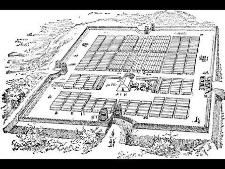 Military camps inspired by the Romans