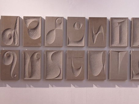 Lettering - Art and Illusion: Exhibition at Ruthin Craft Centre