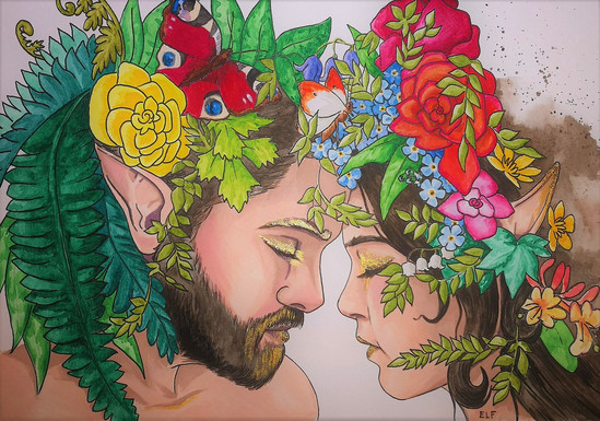 The Faery King and Queen