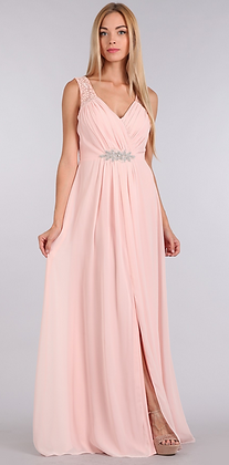 Flowy Dress with Lace Details