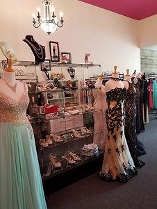 Lizzie G & me showroom