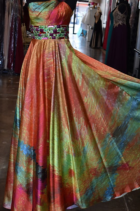 Multi Color Jovani Gown