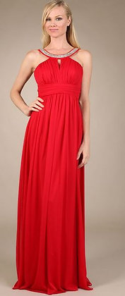Halter Style  Gown