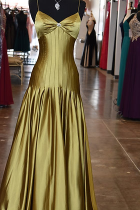 Gorgeous Olive Gown