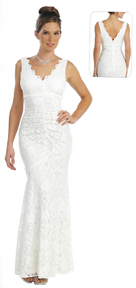 Fitted Lace Dress