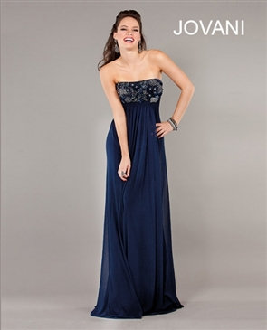 Navy Jovani Dress