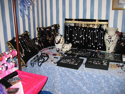 Early boutique jewelry