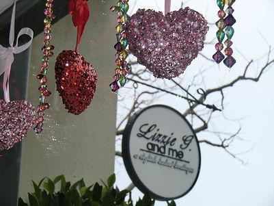 Valentine decortions Monterey store