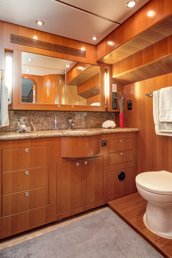 Head in Owner's Stateroom
